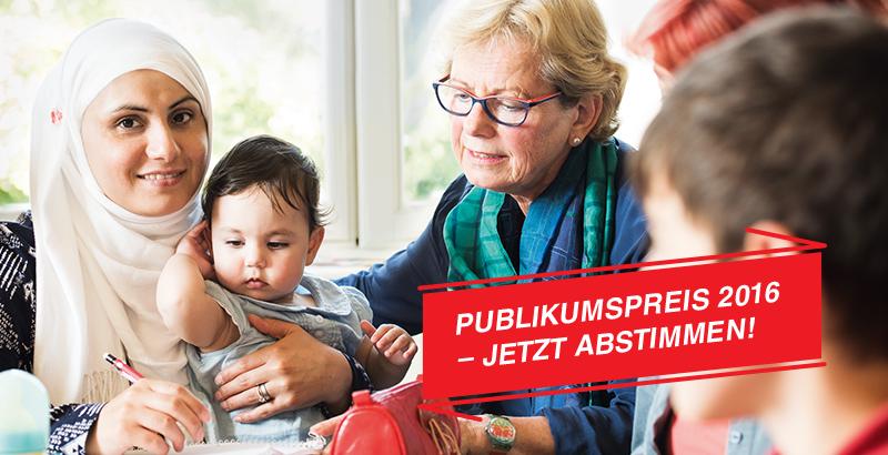 Publikumspreis zum Deutschen Engagementpreis 2016