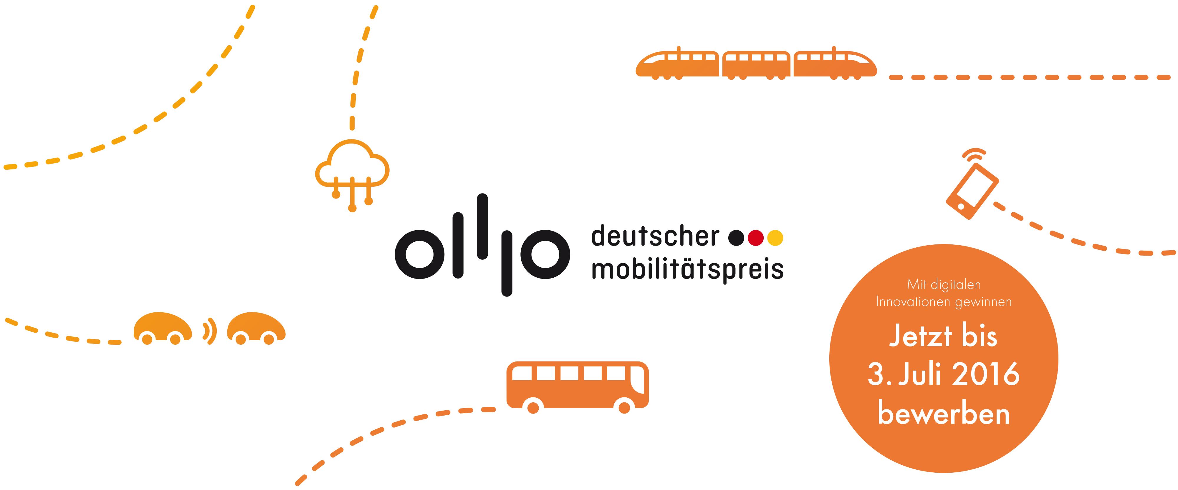 10 Leuchtturmprojekte für den Deutschen Mobilitätspreis
