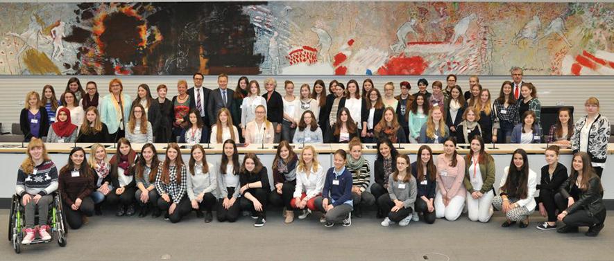 Girls'Day 2017 im Deutschen Bundestag