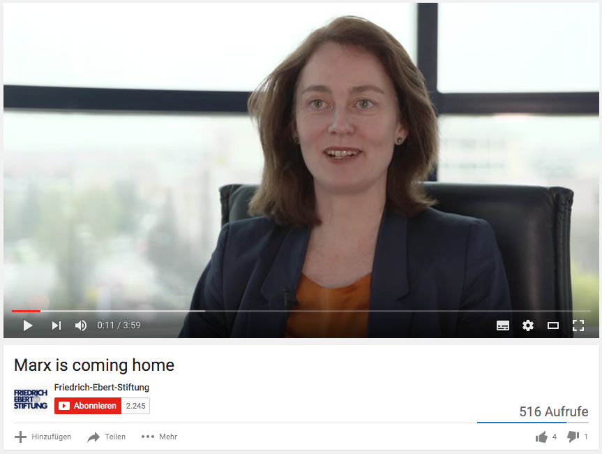 Marx is coming home