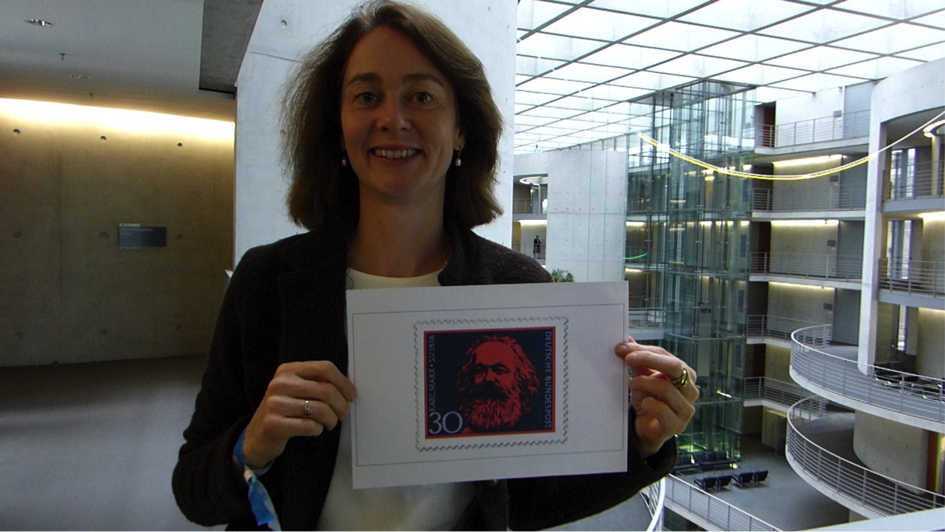 "Barley: Sonderbriefmarke ""Karl Marx"" kommt 2018"
